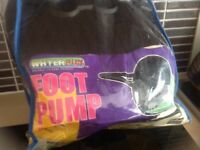 Halsall non electric foot pump