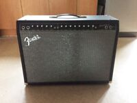 Fender Champion 100 2 x 12 Amp. Excellent Cond. Hardly Used With Footswitch, Power and Jack Leads