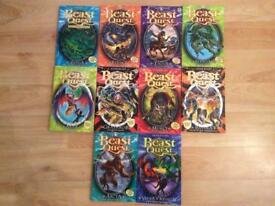 10 Beast Quest Books