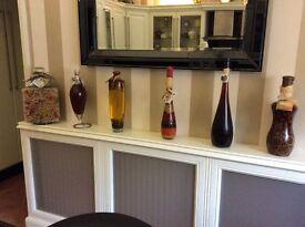 6 Ornamental kitchen jars