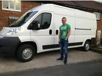 RJB Light Haulage & Removals man & van works 7 days a week