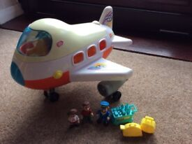 Chad Valley Holiday Aeroplane Toy