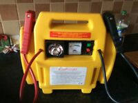 Jump starter and air compressor never been used. Unwanted gift