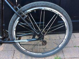 "24 Speed Mountain Bike Tioga 26"" wheels"