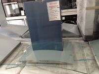 Beko select 70cm cooker hood. Glass and stainless steel. £99. New/graded 12 month Gtee