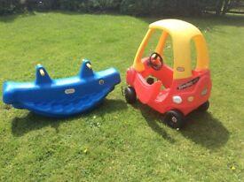 Little tikes car, good condition, still bright colour