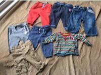 9-12 months boys bundle of clothes