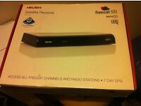 BUSH Freesat Freeview Box with Remote Control