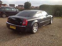 Chrysler 300c 2007 long m,o,t black,89k