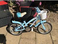 Apollo Cherry Lane Girls Bike 16 inch wheels and stabilisers