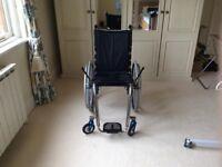 TiLite ZRA2 16X17 Polished Wheelchair.