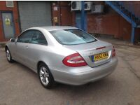 Mercedes CLK Automatic Good Condition with 1 Owner history and mot