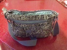 Snake Print Kipling Bag