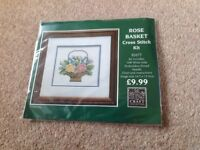 Complete cross stitch kit