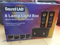 Soundlab 8 lamp light box.