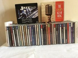 Jazz, Big Band & Swing CDs. Some are box sets. Individual categories with individual prices.