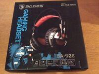 Sades SA-928 Gaming Headset - Brand New, unwanted gift