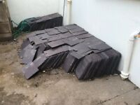 Reclaimed roofing slates