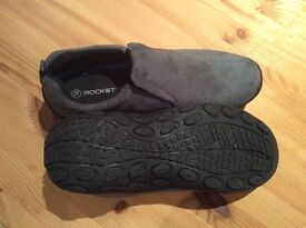 Men's slip on suede shoes size 10