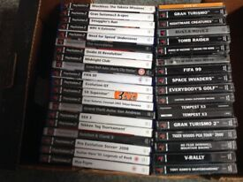 PlayStation 1 and 2 Games