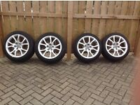 """Audi A5 18"""" Alloy Wheels and Tyres"""