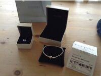 Pandora bracelet 19cm and charm
