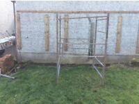 Box steel tower scaffold