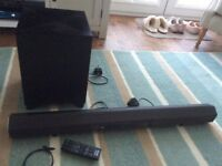 Sony 2.1 Channel HT-CT260 Virtual Surround Sound Bar and Wireless Subwoofer for TV