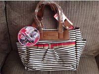 Brand new Babymel Cara changing bag
