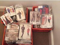 Collection of Vogue Patterns, some vintage