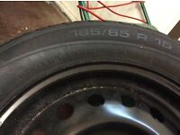 Tyre never used,was brand new been in garage for yrs.To fit Nissan note