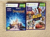 XBOX 360 Kinect games DISNEY RUSH & DISNEY ADVENTURES