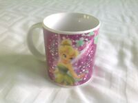 Disney Tinkerbell Child's Ceramic Mug