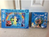 Disney's Puzzle Ball & Inside Out Jigsaw