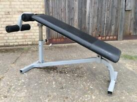 Commercial Sit Up/Decline Bench (Delivery Available)