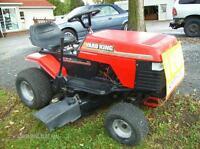 Tracteur à gazon de marque Yard King