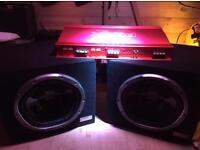 Sony Car Audio Amplifier & Subs