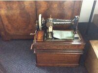 Antique Victorian Singer Sewing Machines 1911 No 66k