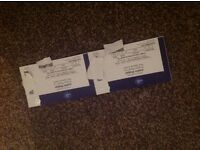 2 x tickets Justin Bieber November 29th the o2