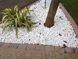 White Stones for Garden