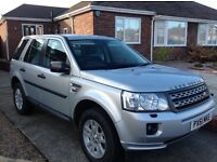 Land Rover Freelander TD4 XS, Silver, LOW MILEAGE