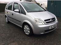 Opel Meriva 1.6 with mot march 2018 great condition 2005 reduced price cookstown