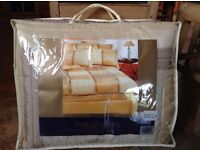 Duvet Set(Double) Never used nor taken out of bag. From luxury Pure Opulence collection-Sophia