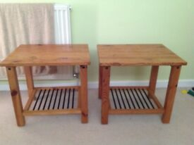 Two bedsidetables