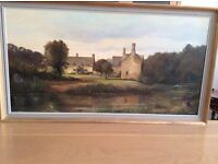 Oil painting by EJ Wilson, local Cotswold artist
