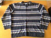 Lacoste Vintage Sweat top jumper Uk L Size 5 Devanlay