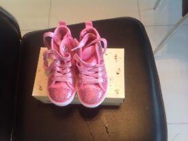 Start Rite girls pink trainers