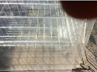 Clear acrylic , Perspex plastic sheets