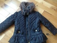 Girls winter coat jacket StarJulian Macdonald age 5-6