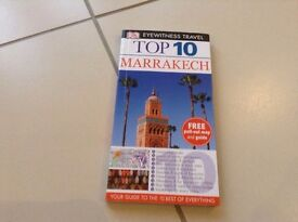 Eyewitness Travel Top 10 Marrakesh. As new, excellent book and map. Bargain £5